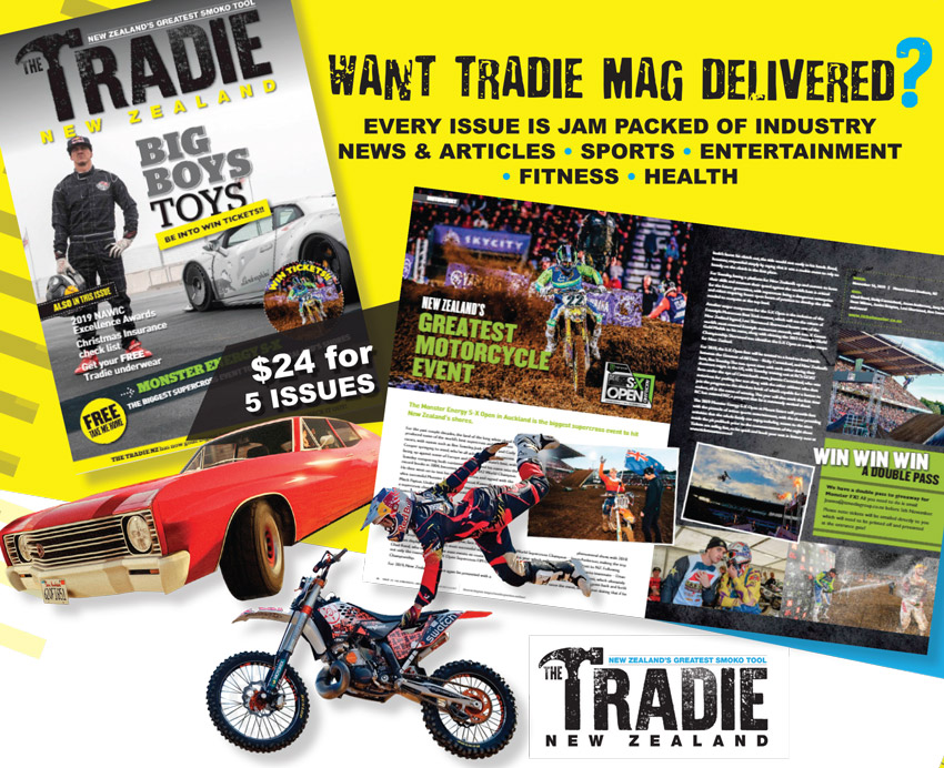 tradie nz subscription